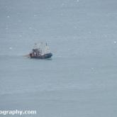 RSPB Bempton Cliffs - Fishing trawler