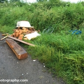 The fly-tipping I reported