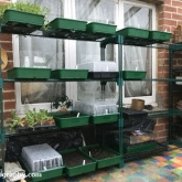 Glasshouse racking