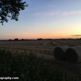 My Patch - Straw bales in the field